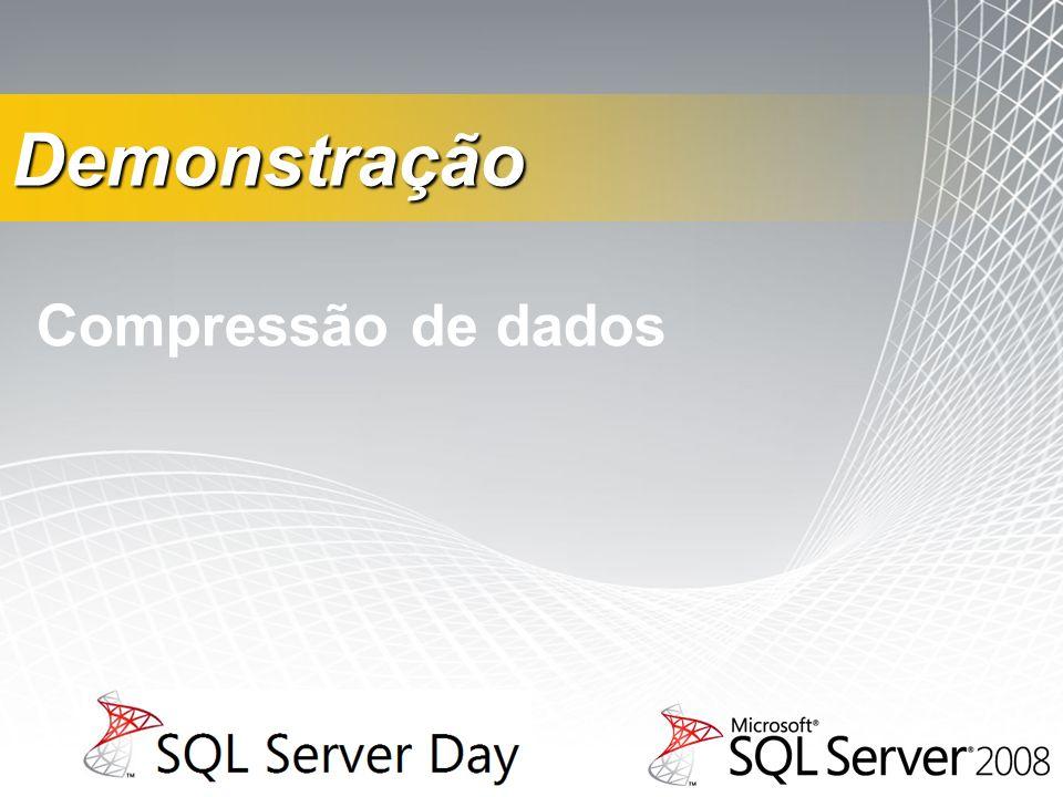 Demonstração Compressão de dados