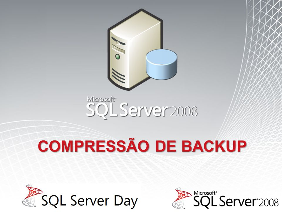 Compressão de backup