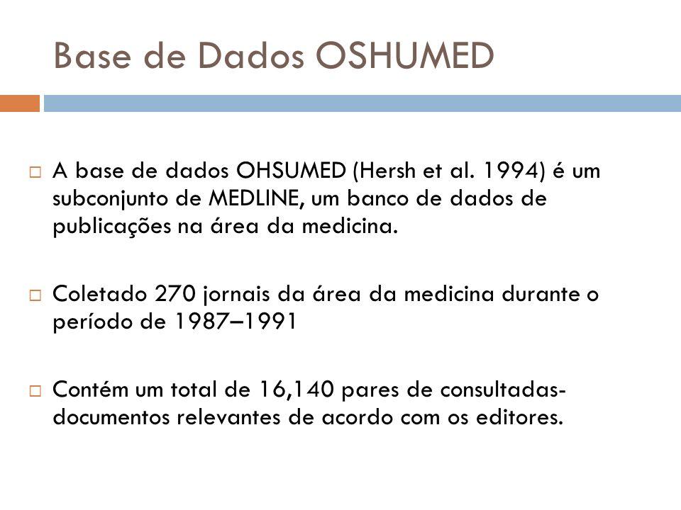Base de Dados OSHUMED