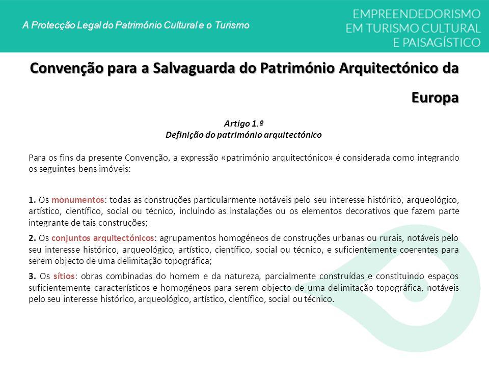 Definição do património arquitectónico