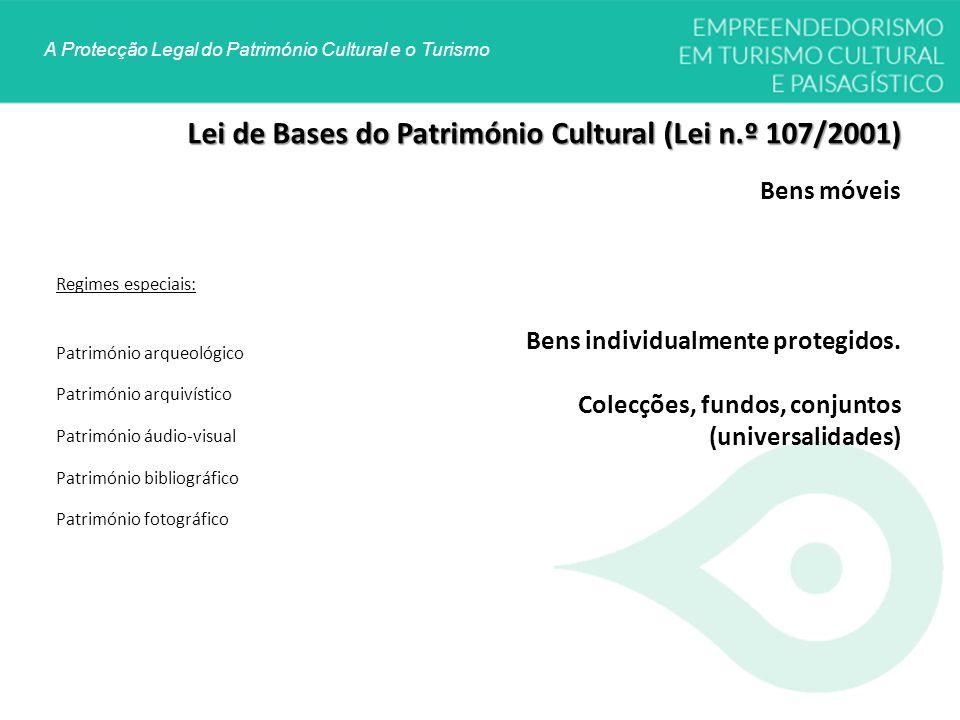 Lei de Bases do Património Cultural (Lei n.º 107/2001)