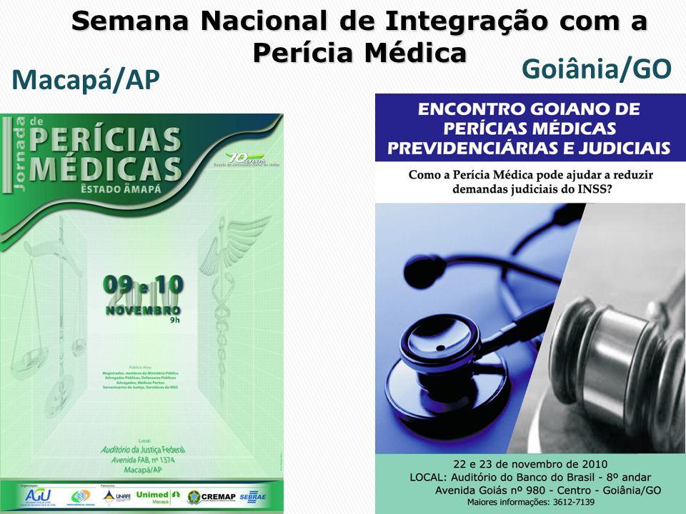 Semana Nacional de Integração com a Perícia Médica