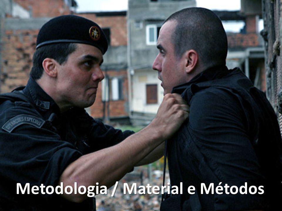 Metodologia / Material e Métodos