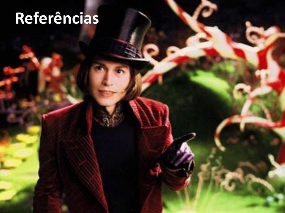 Referências A fantástica fábrica de chocolate (2005), de Tim Burton