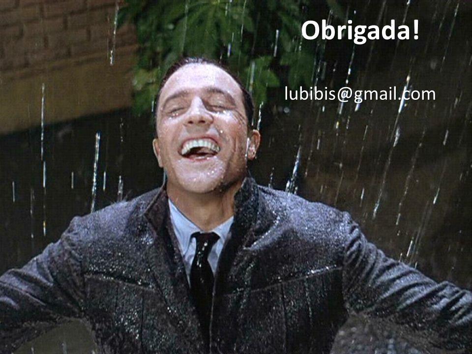 Obrigada! lubibis@gmail.com Cantando na chuva (1952), de Stanley Donen