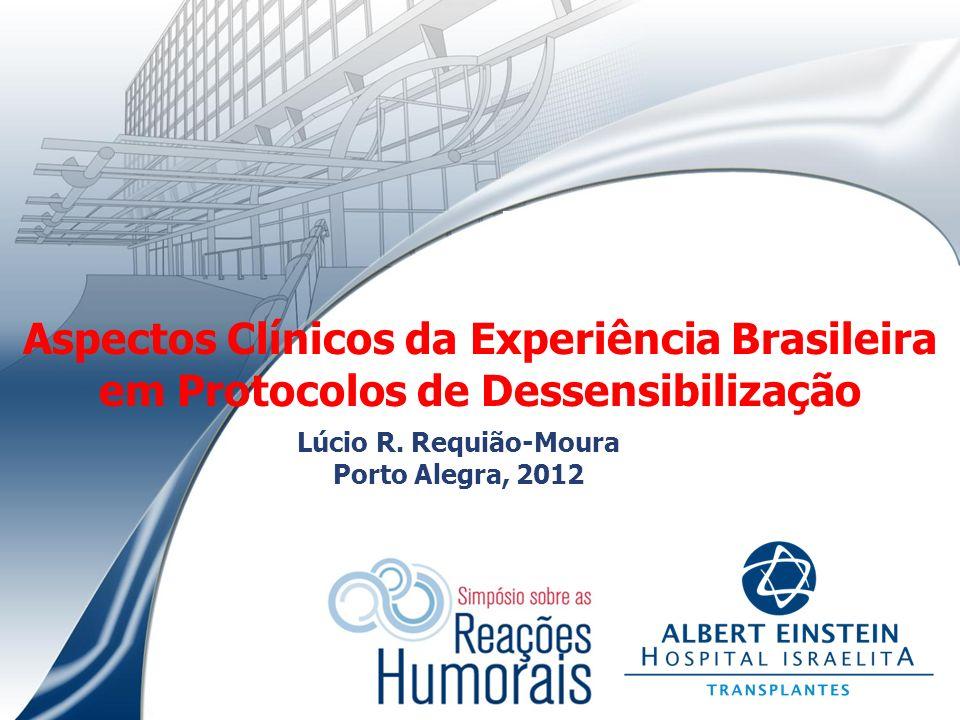Aspectos Clínicos da Experiência Brasileira em Protocolos de Dessensibilização