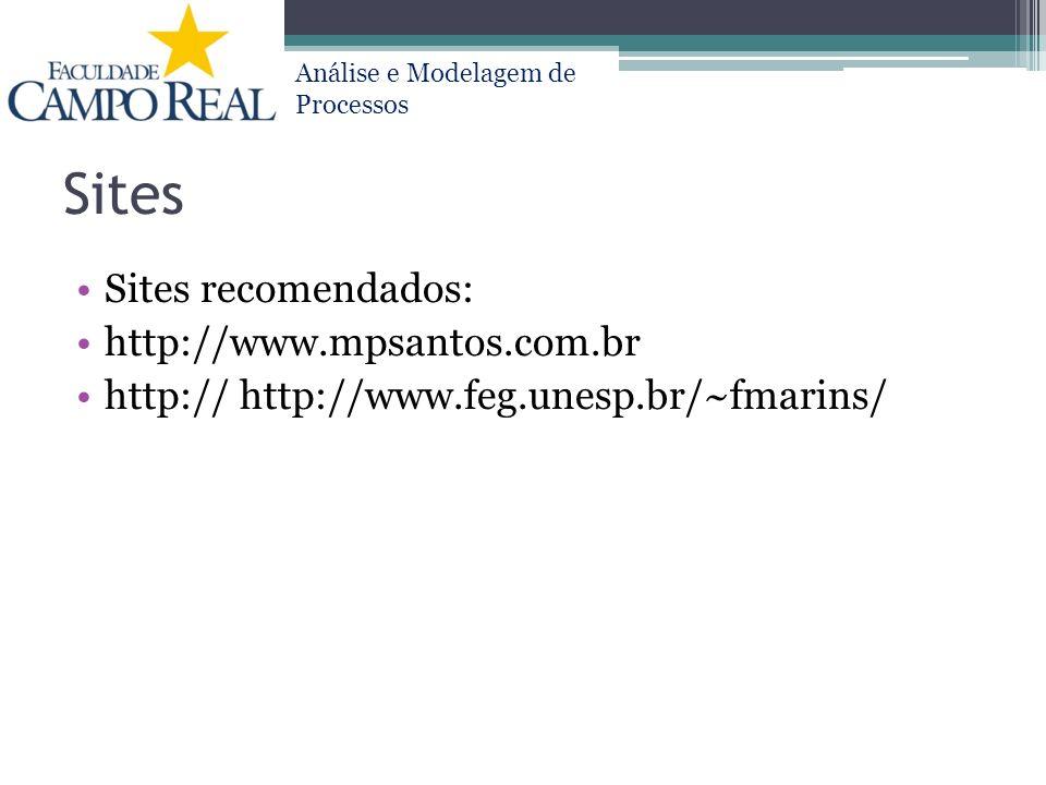 Sites Sites recomendados: http://www.mpsantos.com.br