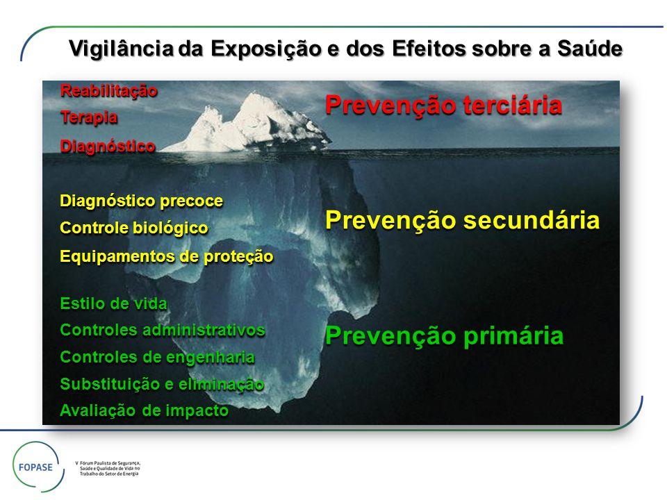 Vigilância da Exposição e dos Efeitos sobre a Saúde
