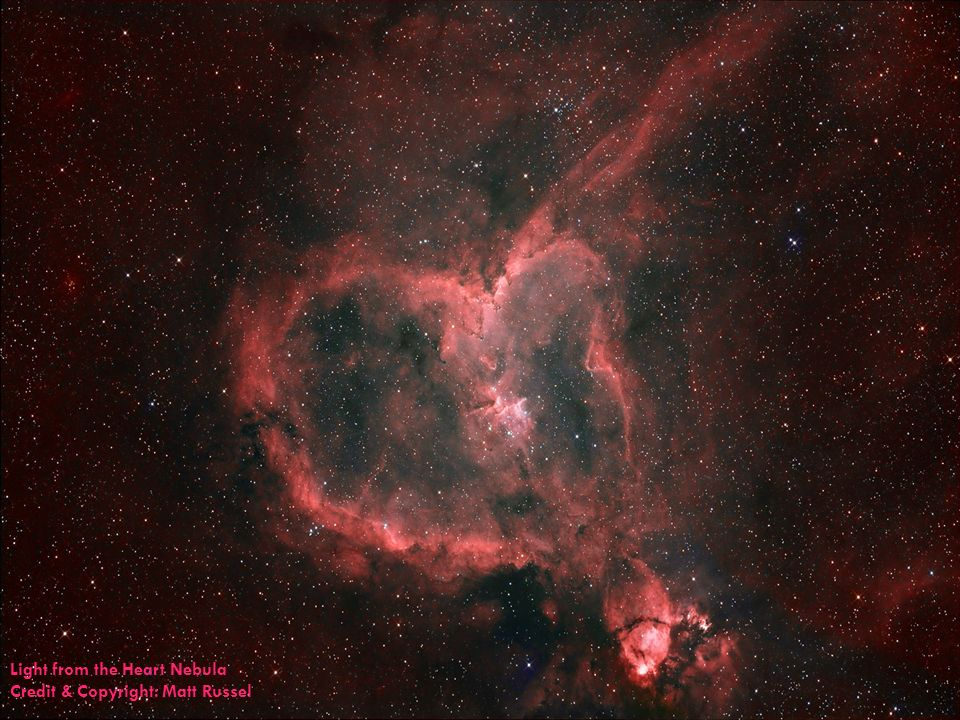 Light from the Heart Nebula Credit & Copyright: Matt Russel