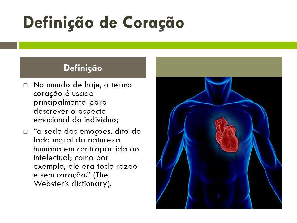 Definição de Coração Definição