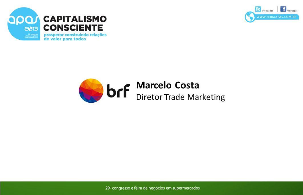 Marcelo Costa Diretor Trade Marketing