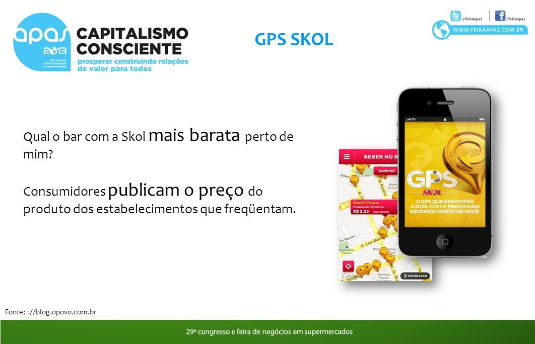 GPS SKOL Qual o bar com a Skol mais barata perto de mim