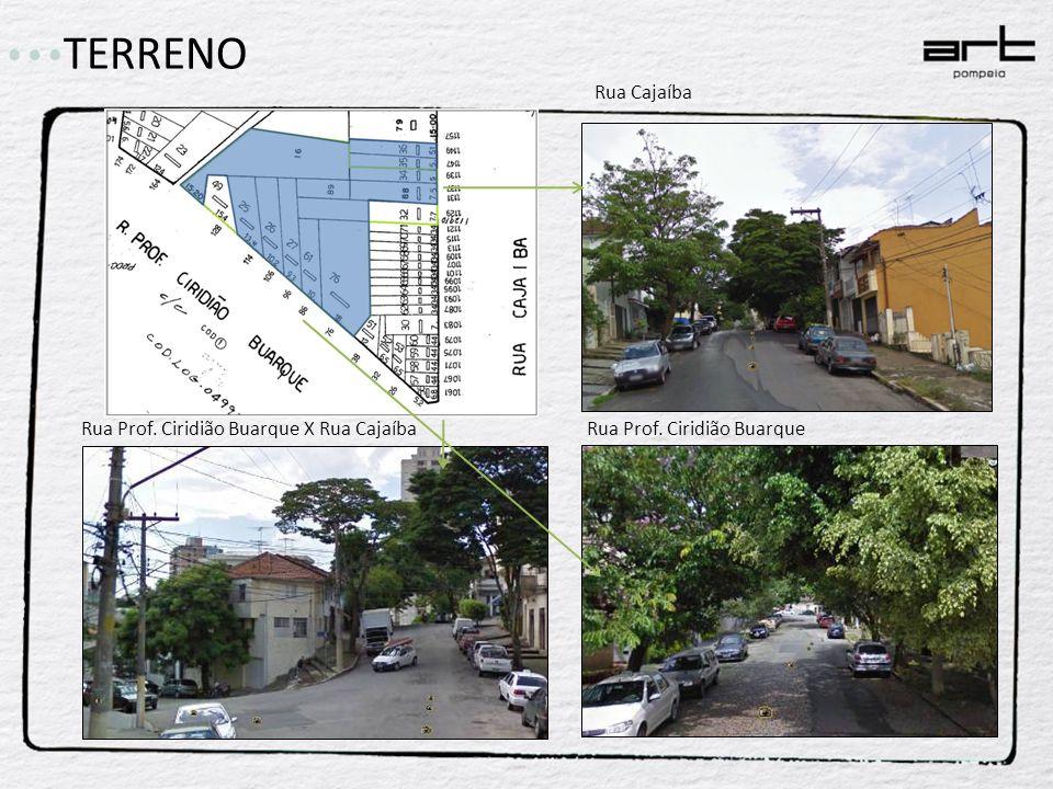 TERRENO Rua Cajaíba Rua Prof. Ciridião Buarque X Rua Cajaíba