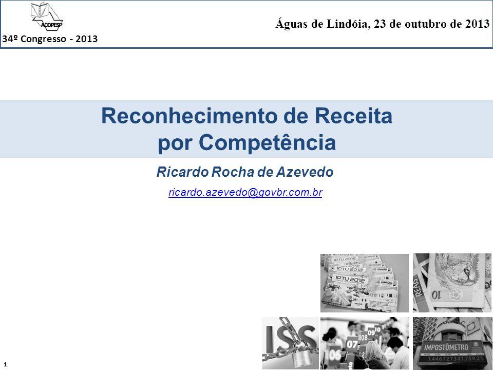 Reconhecimento de Receita Ricardo Rocha de Azevedo