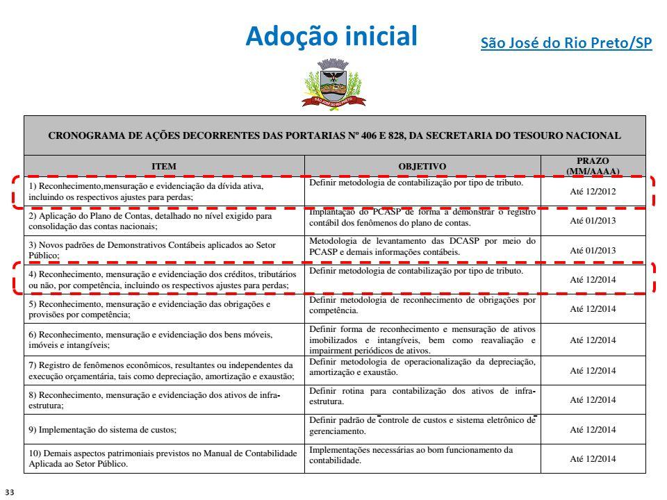 Adoção inicial São José do Rio Preto/SP - -