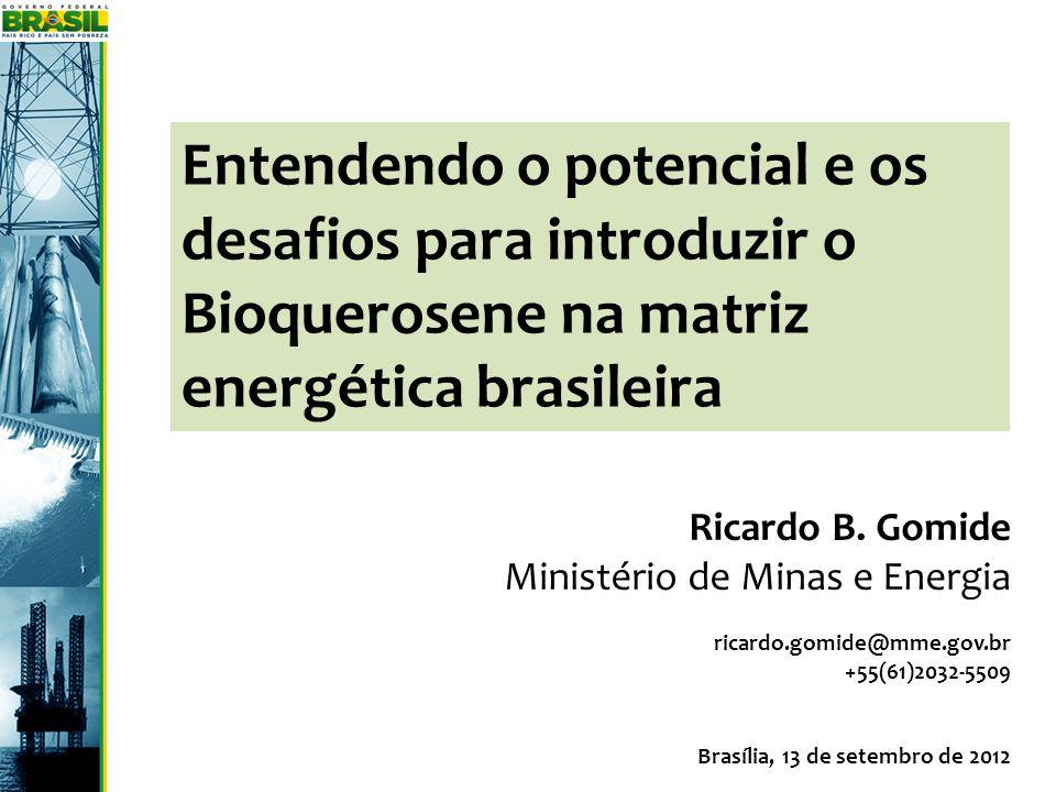 Entendendo o potencial e os desafios para introduzir o Bioquerosene na matriz energética brasileira
