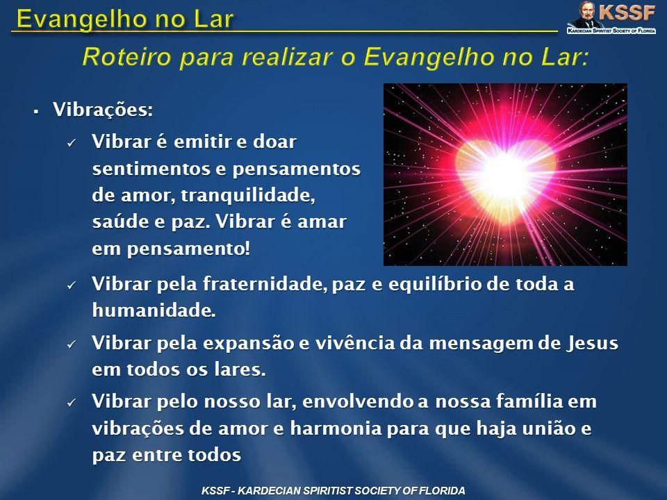 Roteiro para realizar o Evangelho no Lar: