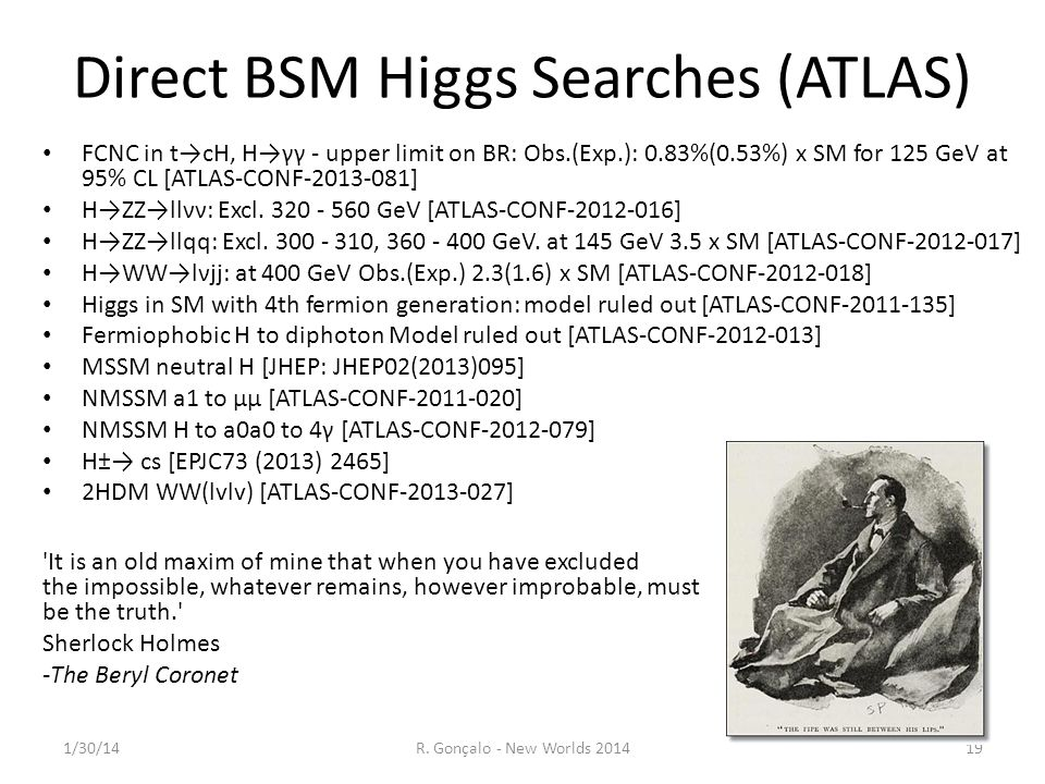 Direct BSM Higgs Searches (ATLAS)