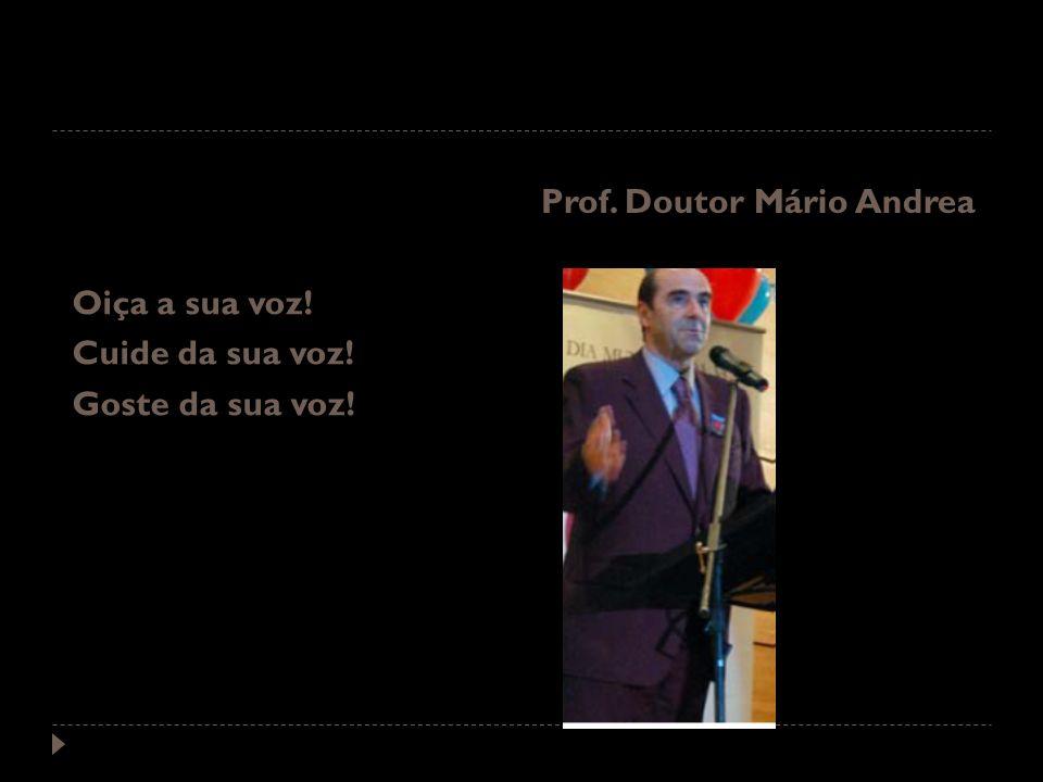 Prof. Doutor Mário Andrea