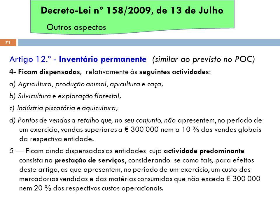 Decreto-Lei nº 158/2009, de 13 de Julho