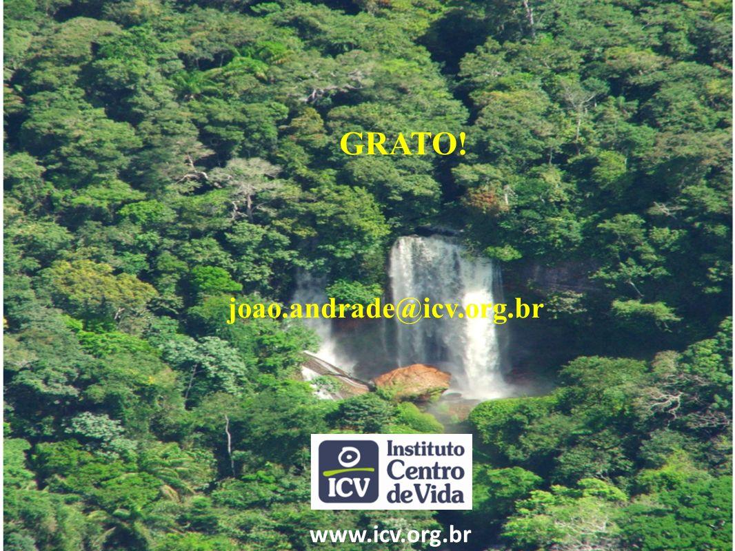GRATO! joao.andrade@icv.org.br www.icv.org.br