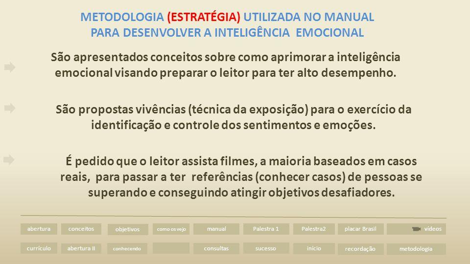 METODOLOGIA (ESTRATÉGIA) UTILIZADA NO MANUAL