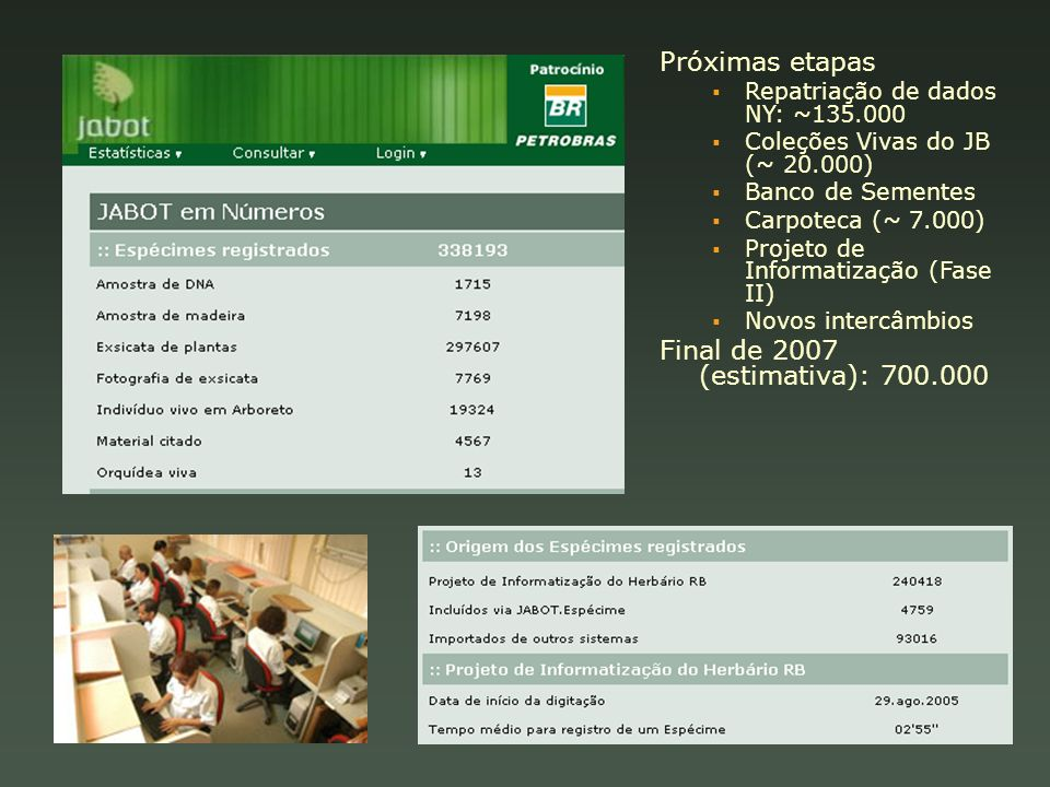 Final de 2007 (estimativa): 700.000