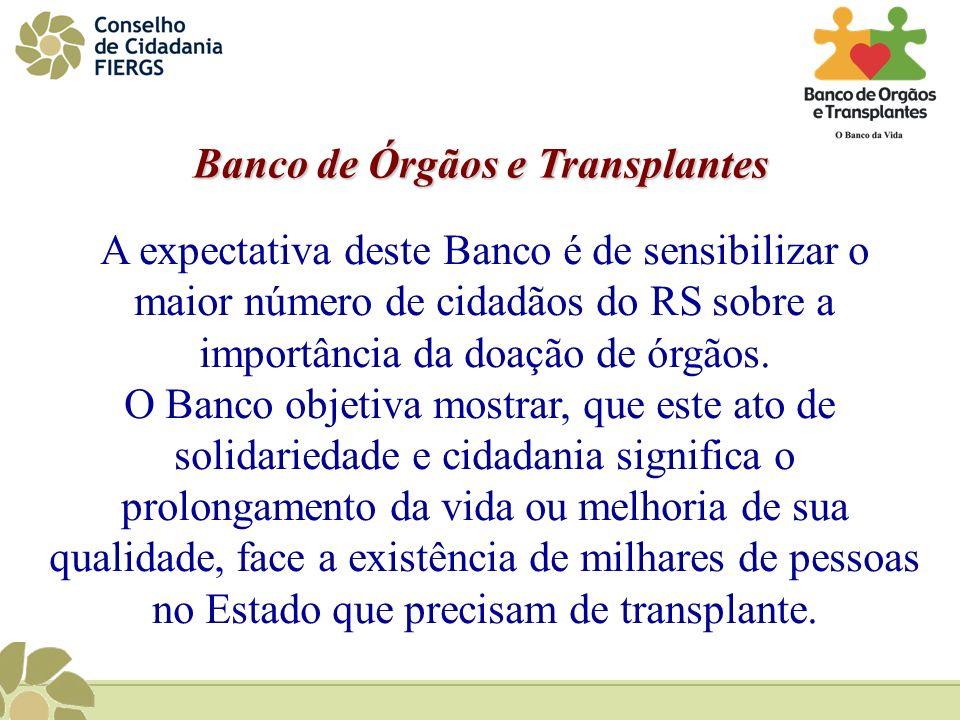 Banco de Órgãos e Transplantes