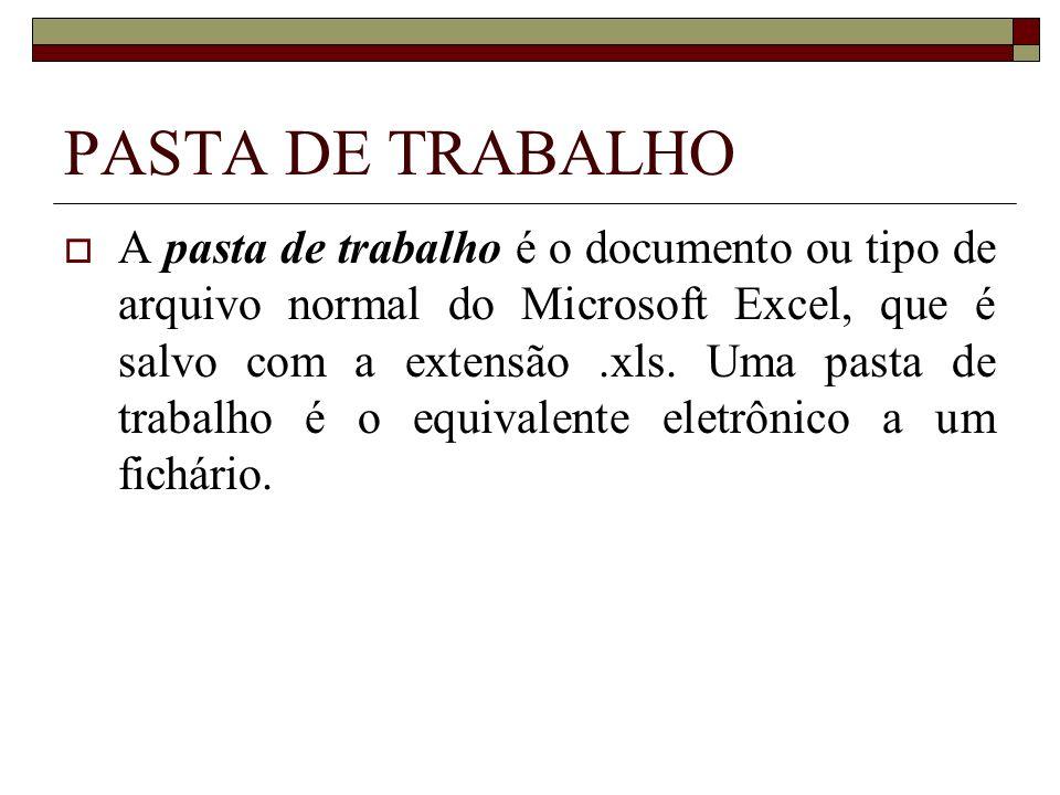PASTA DE TRABALHO
