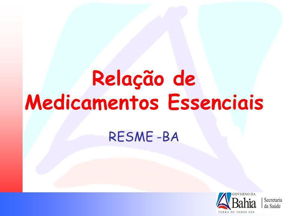 Relação de Medicamentos Essenciais