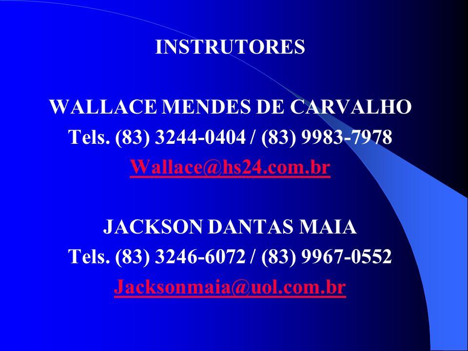 WALLACE MENDES DE CARVALHO