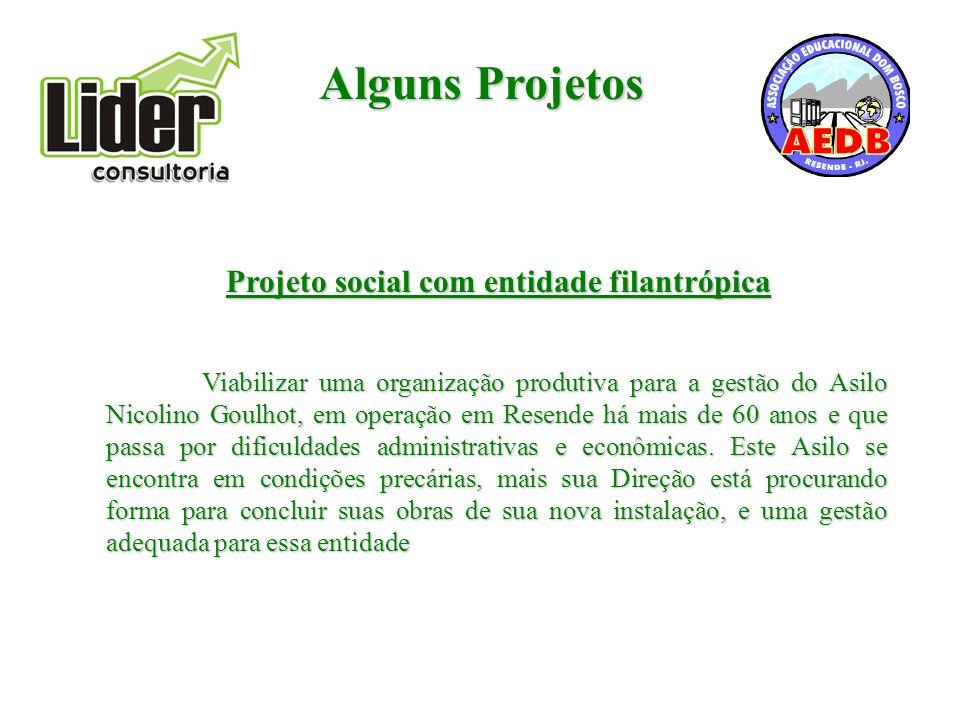 Projeto social com entidade filantrópica