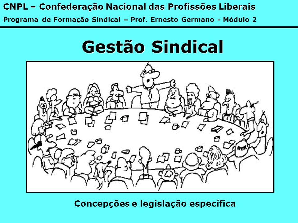 Concepções e legislação específica