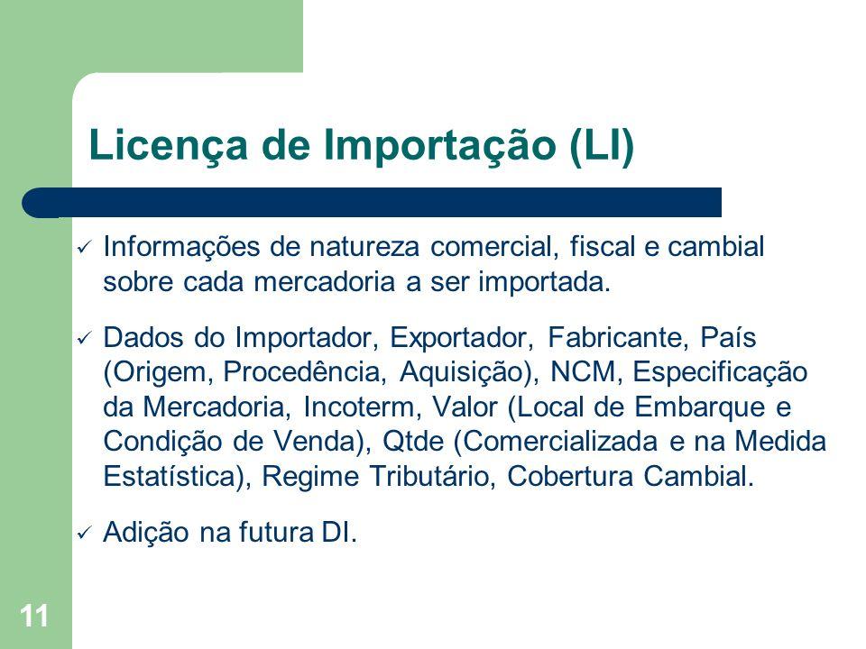 Licença de Importação (LI)