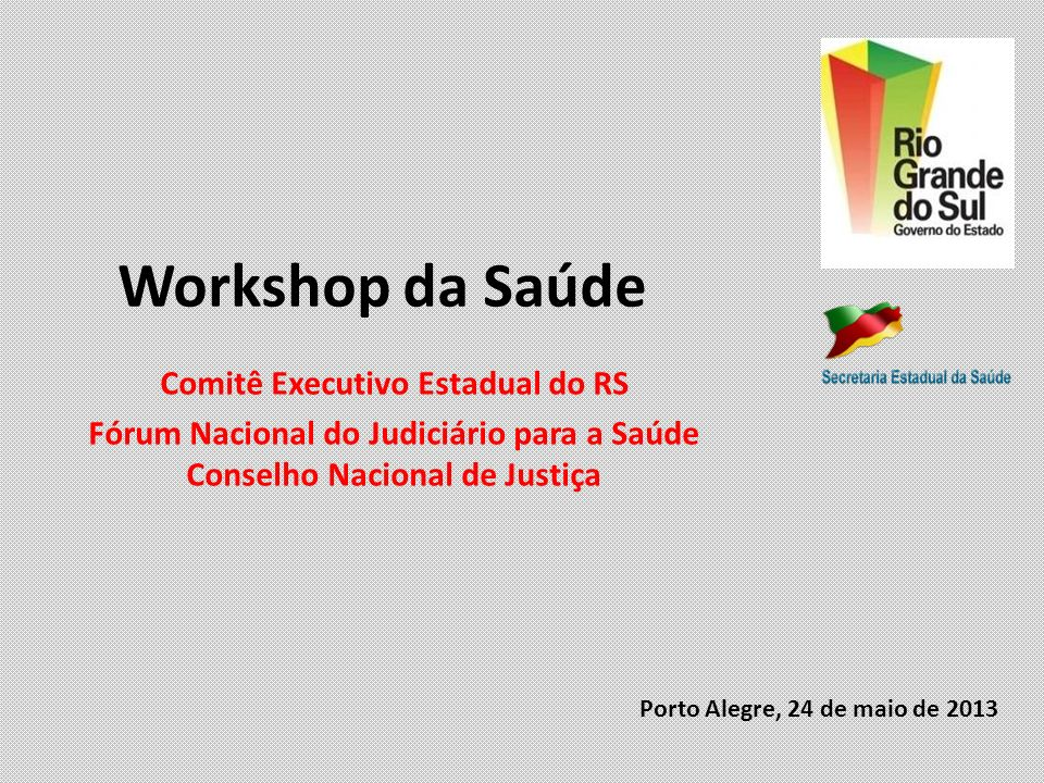 Workshop da Saúde Comitê Executivo Estadual do RS