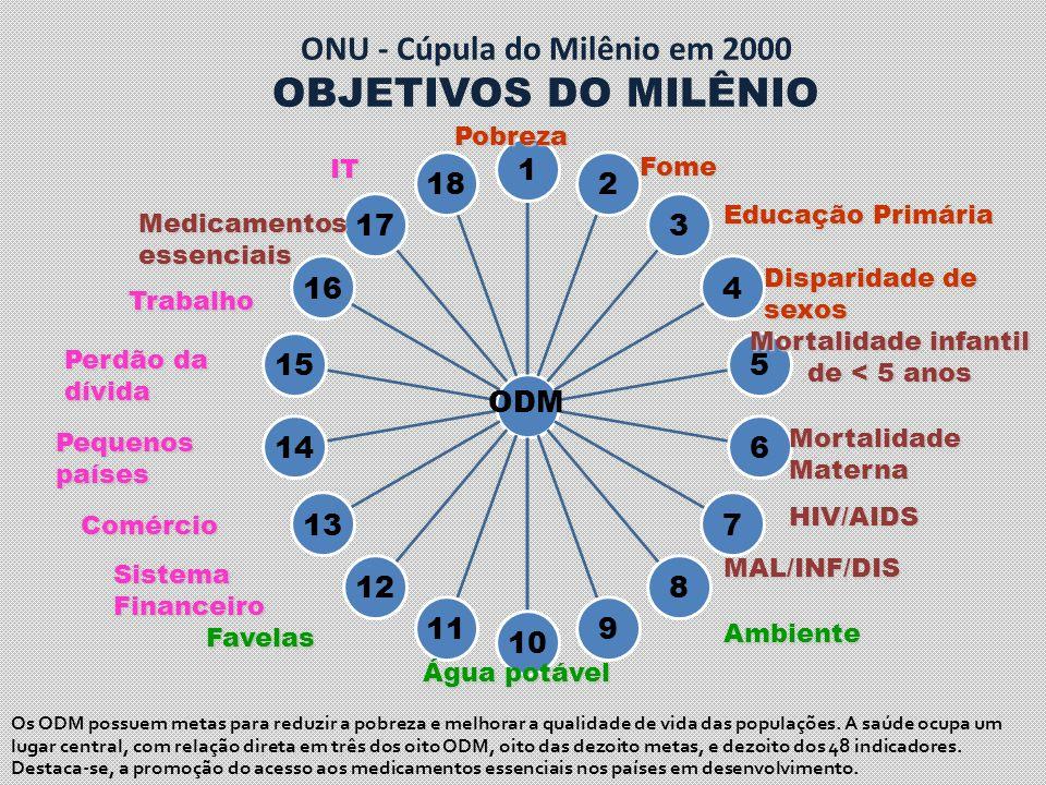 ONU - Cúpula do Milênio em 2000