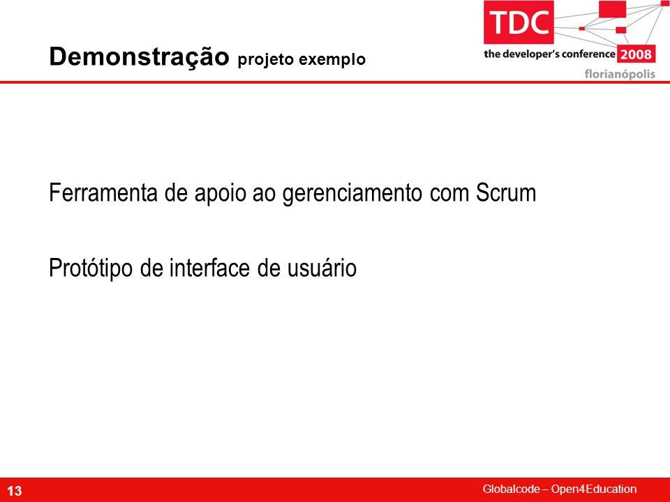 Demonstração projeto exemplo