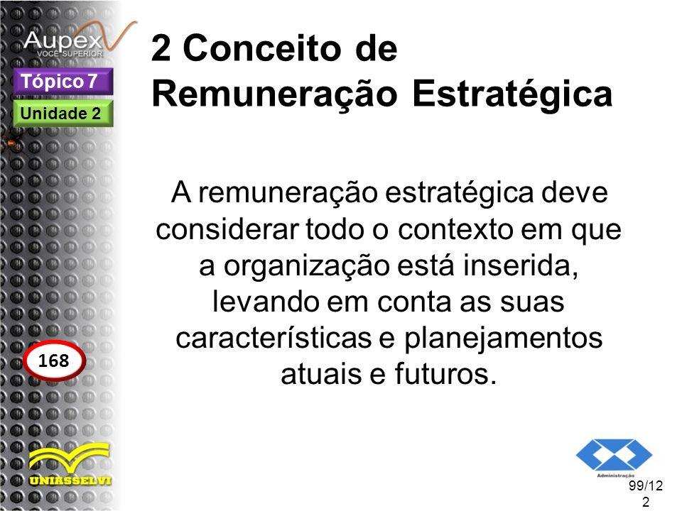 2 Conceito de Remuneração Estratégica