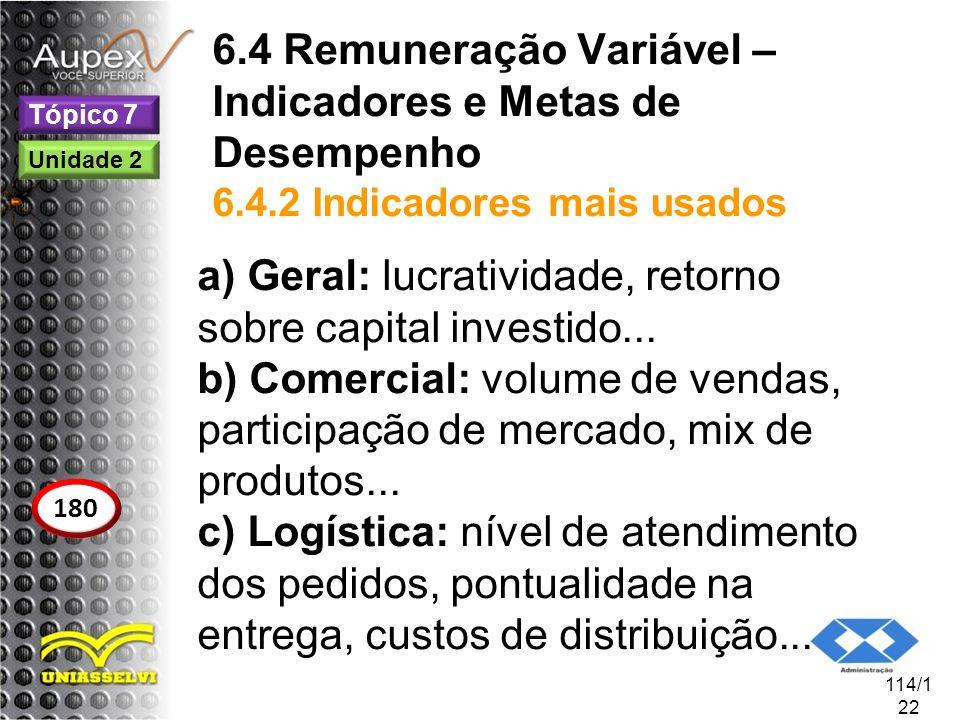 Geral: lucratividade, retorno sobre capital investido...