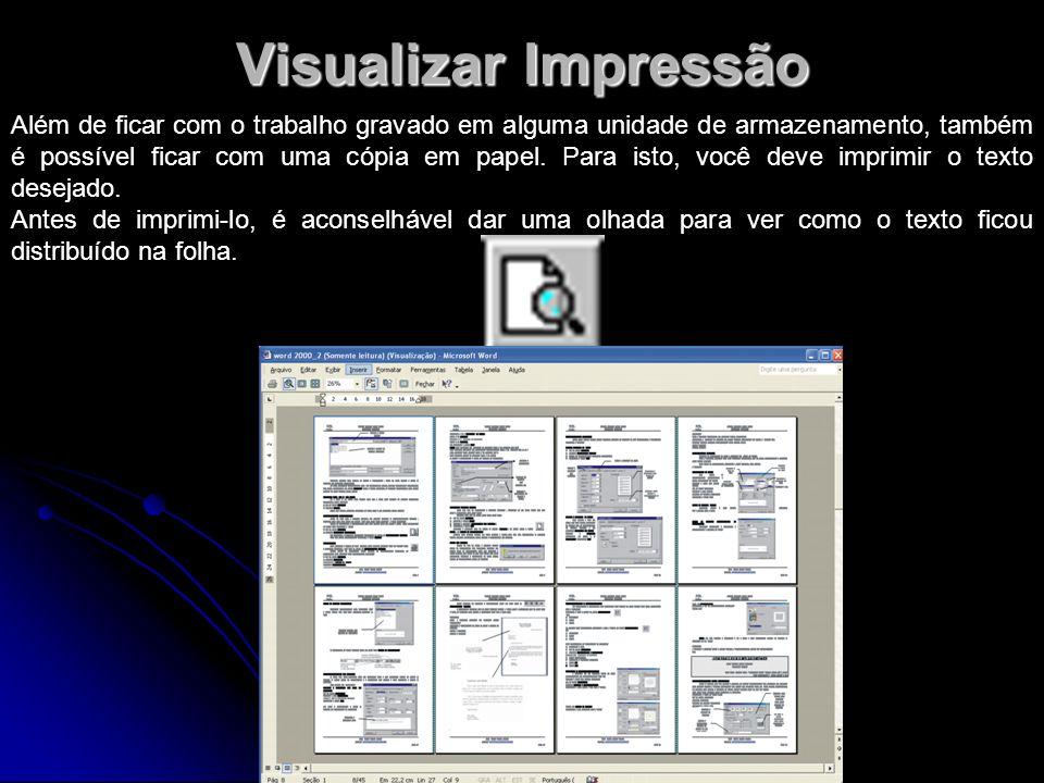 Visualizar Impressão
