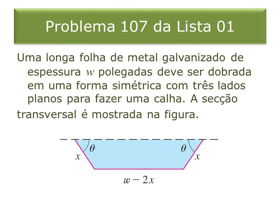 Problema 107 da Lista 01