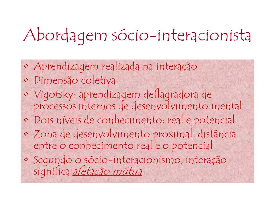 Abordagem sócio-interacionista