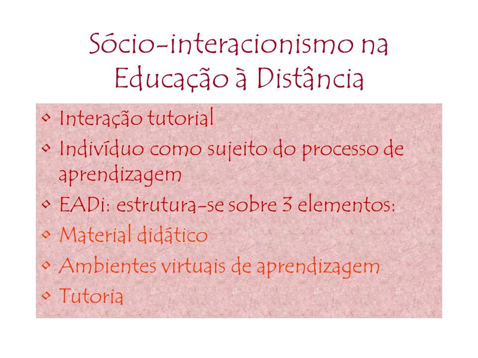 Sócio-interacionismo na Educação à Distância