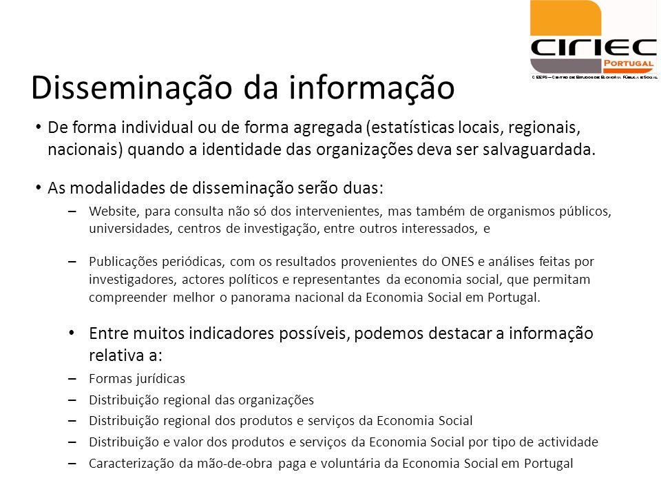 Disseminação da informação