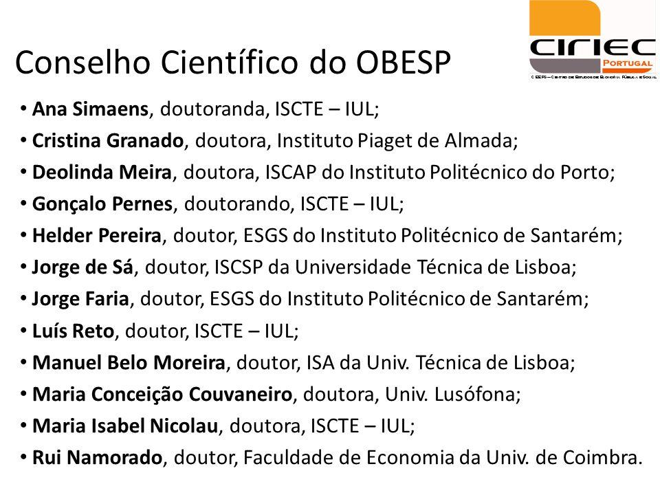 Conselho Científico do OBESP