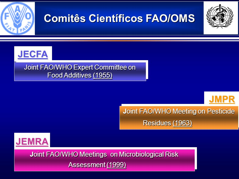 Comitês Científicos FAO/OMS