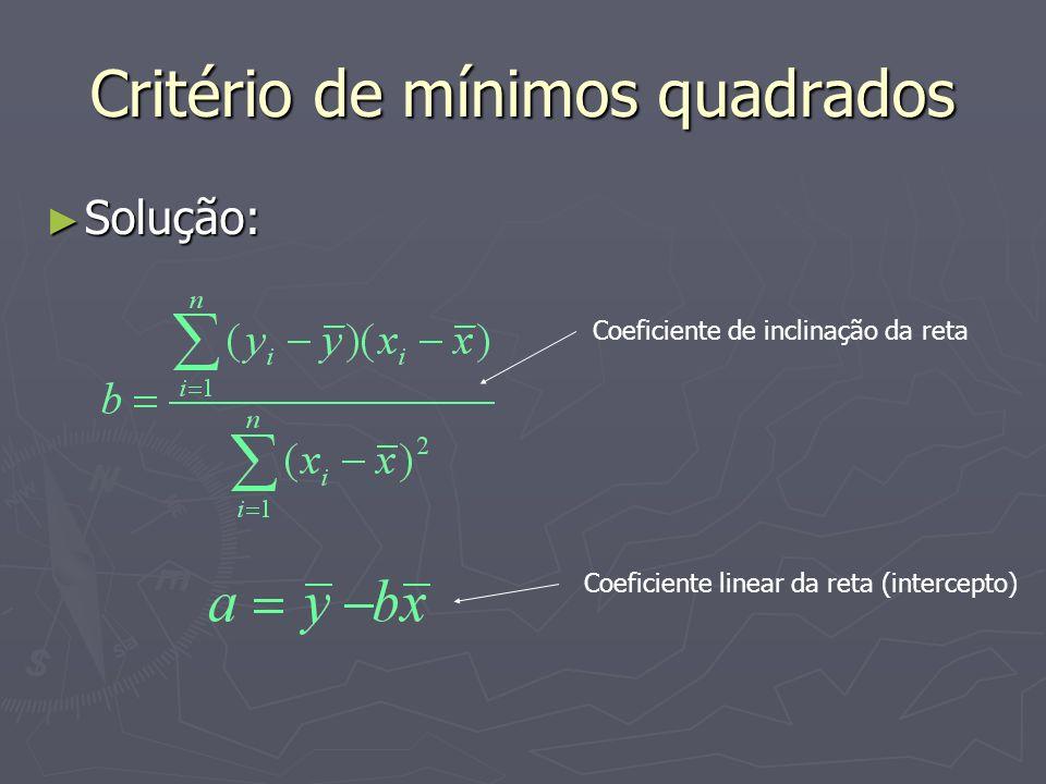 Critério de mínimos quadrados