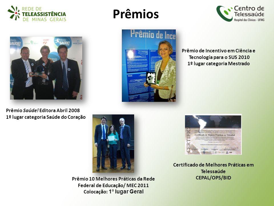 Prêmios Prêmio de Incentivo em Ciência e Tecnología para o SUS 2010