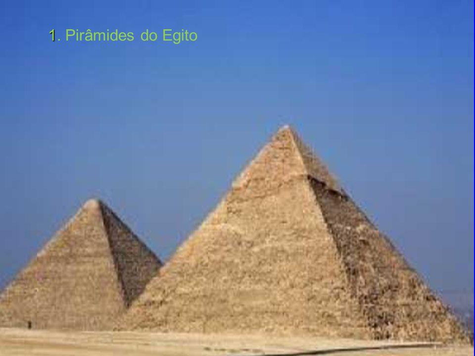 1. Pirâmides do Egito