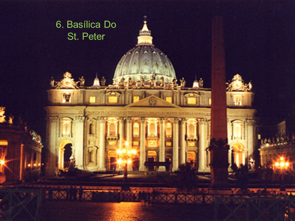 6. Basílica Do St. Peter